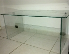 Mesa para escritório de vidro temperado sob encomenda