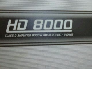 Módulo Taramps HD8000 na Caixa - 4 meses de uso!