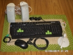 Acessórios para PC - Teclado inteligente / Caixa de Som / Microfone / Mouse