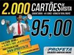 2.000 CARTÕES DE VISITA 4X1