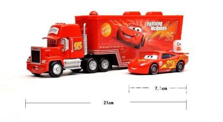 O Caminhão Mack + macqueen de brinde original!