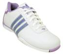 Tênis Adidas Feminino Branco com Lilás.