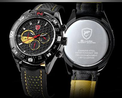 a0d350e6b36 Relógio Masculino Shark Original - Estoque No Brasil em Marília SP ...