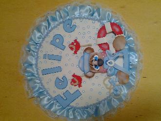 Capa protetora personalizada para seu cartão de vacina.