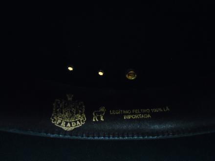 Vendo Chapéu PRADA modelo ARIZONA Nº 59 - Novissimo!!! em Limeira SP ... 33738857098