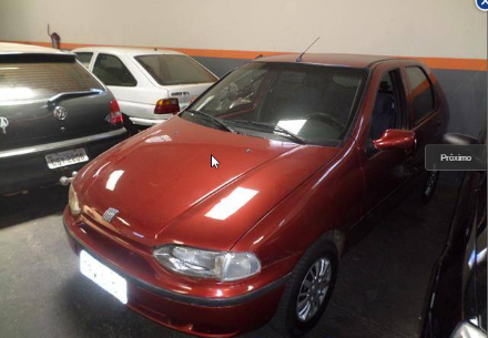 FIAT PALIO 1.0 MPI EDX 8V GASOLINA 4P MANUAL 1997