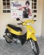 HONDA BIZ 125 MAIS - 2007 AMARELA