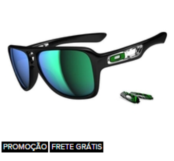 a7025ff554546 ÓCULOS OAKLEY DISPATCH II POLISHED BLACK JADE IRIDIUM em Marília SP ...