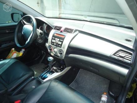 Honda City 1.5 Lx 16v Flex 4p Automático 2011 Preto