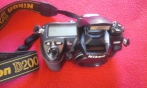 Máquina fotográfica Nikon D200