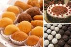 Kit de Festa - bolo + salgados + docinhos