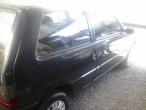 UNO Mille, Eletronic, 1.0, 2 portas, Cinza escuro, pneus novos