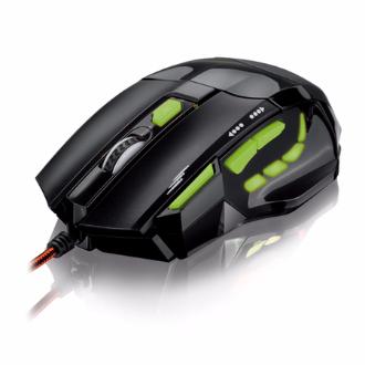 Multilaser Mouse Gamer Óptico FireMouse 7 botões 2400dpi USB MO208