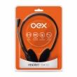Oex Headset Stéreo com Microfone HS-100 Preto