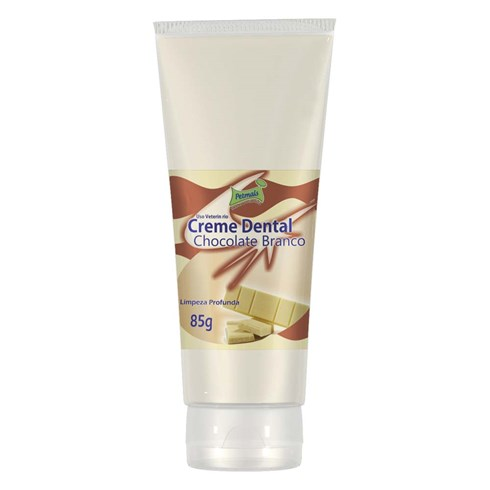 Creme Dental Petmais de Chocolate Branco - 85gr