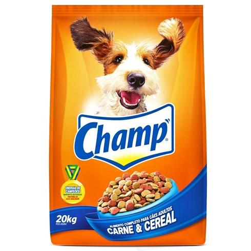 Ração Champ Carne e Cereais - 20kg