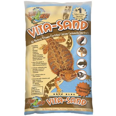 Substrato para Terrário ZooMed Vita-Sand Baja Blue - 4,5kg
