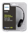 Philips headset Estereo Bluetooth SHB4000/00 - Preto