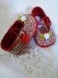 Sapatinho customizado para bebê