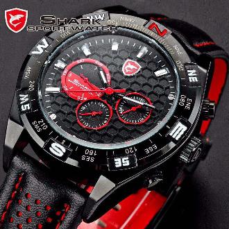 2374abbe7c6 Relógio Masculino Shark Original - Estoque No Brasil em Marília SP ...