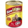Ração Baw Waw em Lata para Cães Patê de Carne - 280 g