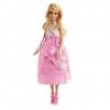 Boneca Barbie Mattel Vestidos Longos - Rosa
