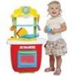 Cozinha Portátil Infantil Maral Vira Maleta 1019 - Vermelha