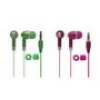 Fone de ouvido estéreo Attitudz em cores vibrantes