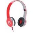 Fone de Ouvido Medio V - BASS V1 Vermelho