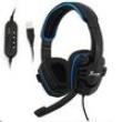 Fone Headset Gamer Knup KP - 357 USB - Azul