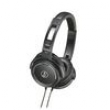 Fones Solid Bass ATH - WS55USBK - Audio - Technica