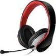 Headset PRETO / VERMELHO com microfone removível - Edifier - K830PRETO