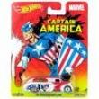 Hot Wheels Heróis Marvel - Mattel - Capitão América