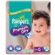 Fraldas Pampers Premium Care G / Grande Pacotão - 20 Unidades