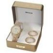 Relógio Feminino Analógico Seculus Fashion 24774LPSFDP3 - Bege / Branco 1692882
