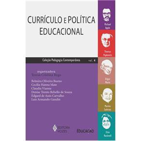 Livro - Pedagogia Contemporânea - Currículo e Política Educacional - 9788532641823