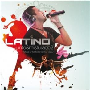 Cd Latino - Junto & Misturado 2: Festa Universitária Vo Vivo - 2011