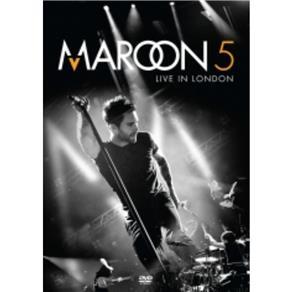 Dvd Maroon 5 - Live In London