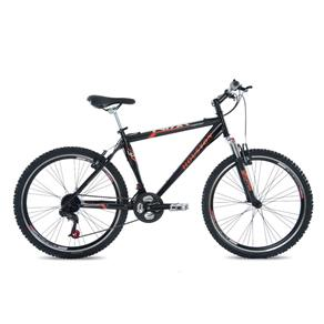 Bicicleta Houston Aro 26 Frontier Win 21 Marchas Preto Brilhante