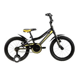 Bicicleta Mountain Bike Volt 1.6 Preta e Amarela Tito Bikes