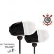 Fone de Ouvido Waldman Sb - 10 Intra - auricular Corinthians Screamin Buddy P2