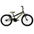 Mountain Bike Volt 2.0 Preta Amarela Aro 20 Tito Bikes