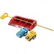 Pack c / 2 Riplash Racers - The King & Funny Car Mate Mattel