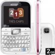 Smartphone Motorola Tri Chip EX117 Desbloqueado - Tela 2 ´, Rede 2G, Câmera 2MP