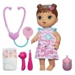 Boneca Hasbro Baby Alive Cuida de Mim Morena