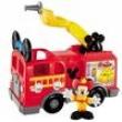 Mickey Mouse Clubhouse Mattel Caminhão de Bombeiros do Mickey