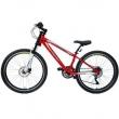 Bicicleta Extreme Aro 26 Unissex Freio A Disco 16519 Fischer Vermelho