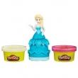 Conjunto Hasbro Play - Doh Princesas Elsa