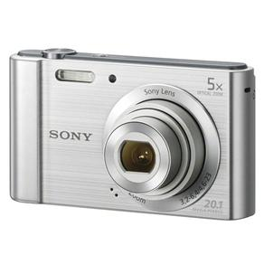 Câmera Digital Sony W830 20.1MP, 8x Zoom Óptico, Foto panorâmica, Vídeos HD,  Lentes Carl Zeiss, Prata c0a143b3cc