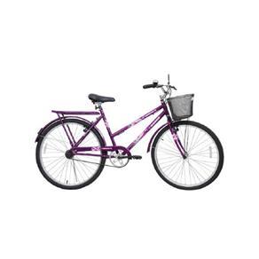 Bicicleta Feminina Aro 26 Genova - 310754 roxo